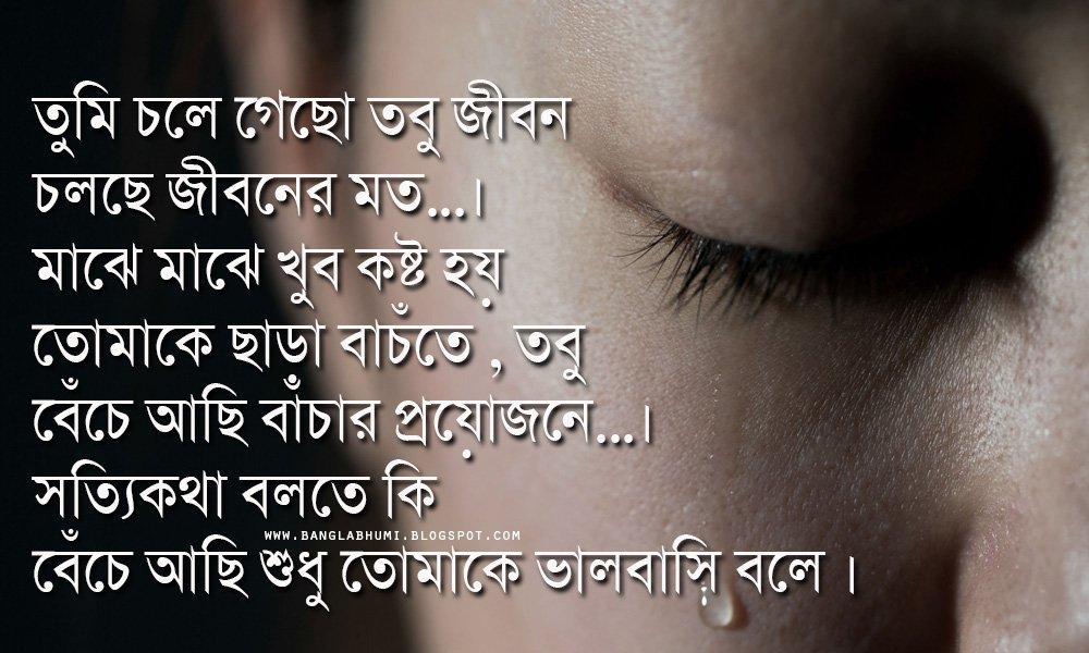 SAD IS SAD: Bangla Sad SMS Shayari