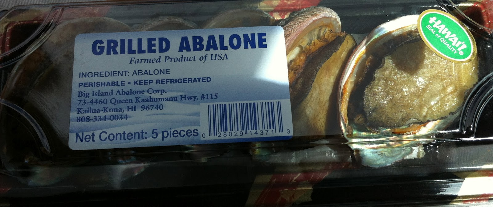 taste of hawaii big island abalone corp abalone from costco farm raised abalone bought at costco in honolulu