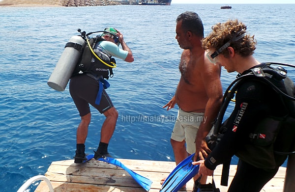 Scuba Diving in Red Sea Aqaba