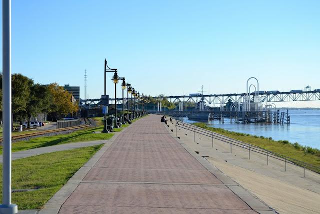 Набережная Батон Руж, Луизиана