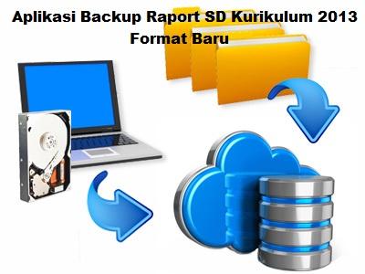 Aplikasi Backup Raport SD Kurikulum 2013 Format Baru