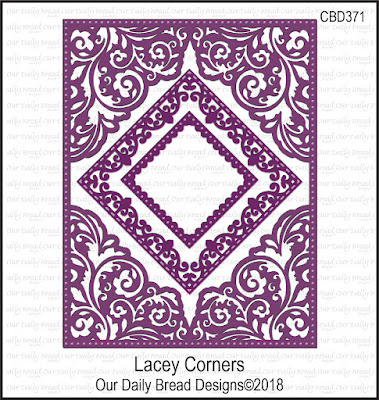 ODBD Custom Die: Lacey Corners