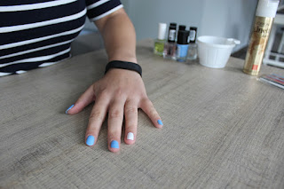 Clothes & Dreams: NOTD: marble nails (tutorial)