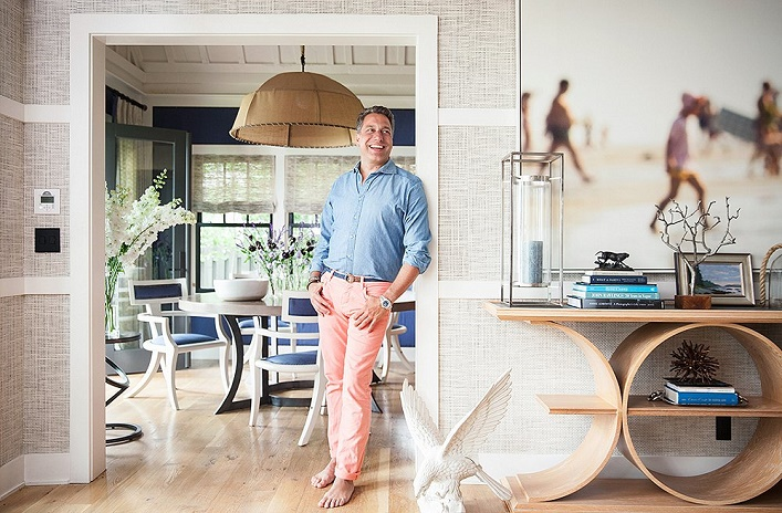 Mix And Chic: Home Tour- Thom Filicia's Modern And