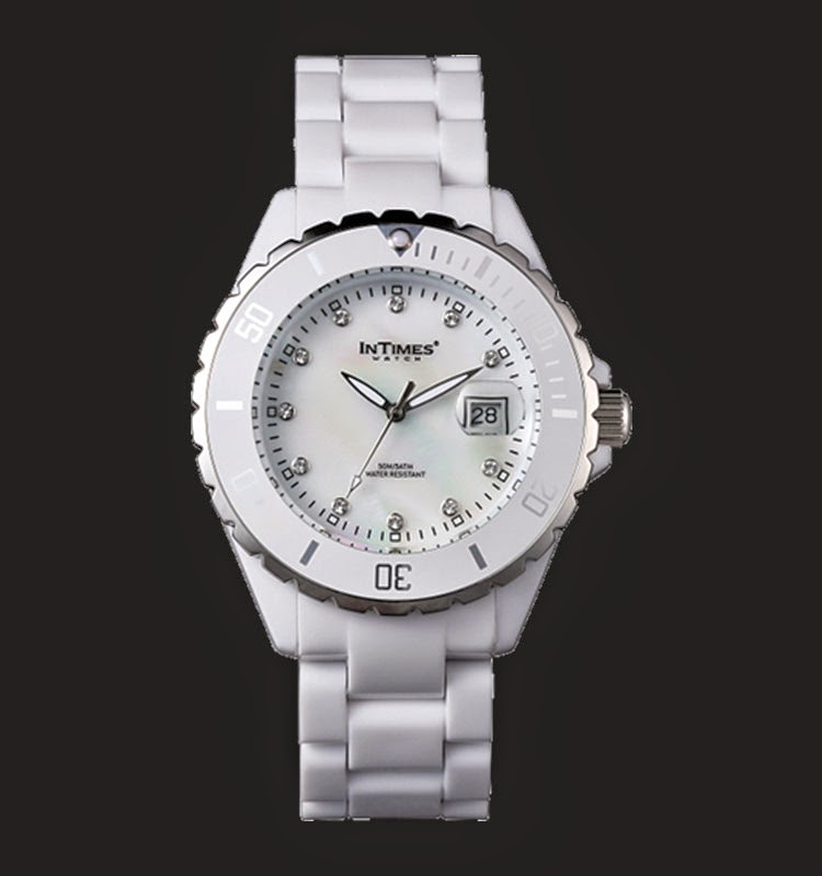 Intimes Wanita IT063-WH Swarovski Crystal