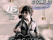 Caio Canuto estreia neste sábado no Comilão Bar