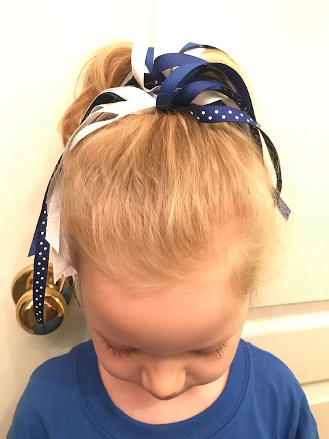 DIY Ribbon Ponytail Holder