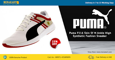 Puma F116 Skin Sf M Ankle High Synthetic Fashion Sneaker (PUMPFSSM3191612) Online
