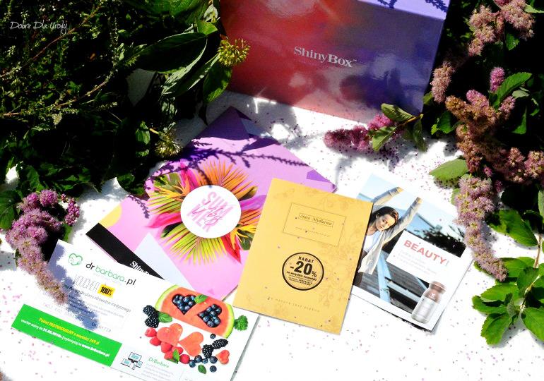 Summer Vibes by Shiny czyli lipcowe pudełko ShinyBox