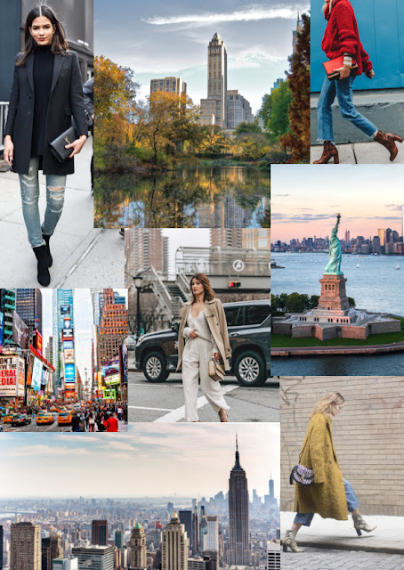 *New York Inspired Mood Board