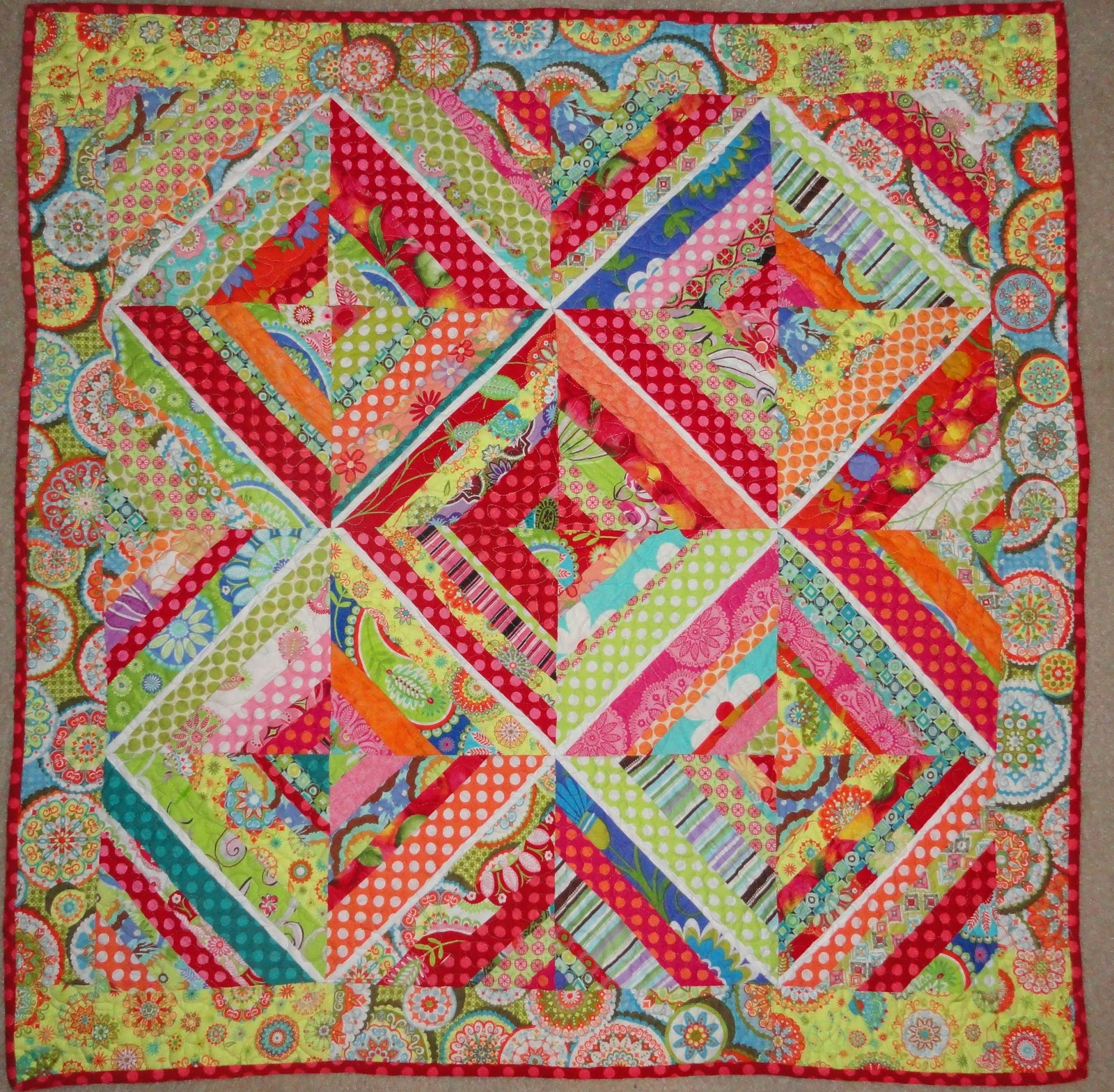 Oxford Impressions Baby String Quilt Jenean Morrison Free