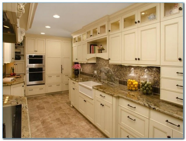 √√ KITCHEN Color Ideas with Beige CABINETS   Home Interior ...