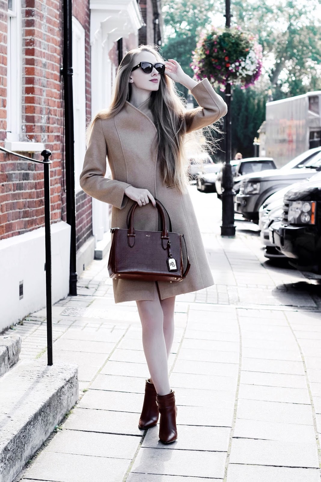 Styling a Camel Coat for Autumn Fashion Blog