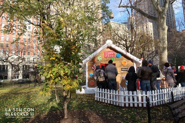 Decoracion de Navidad en Nueva York que ver y hacer Gingerbread Madison Square Park