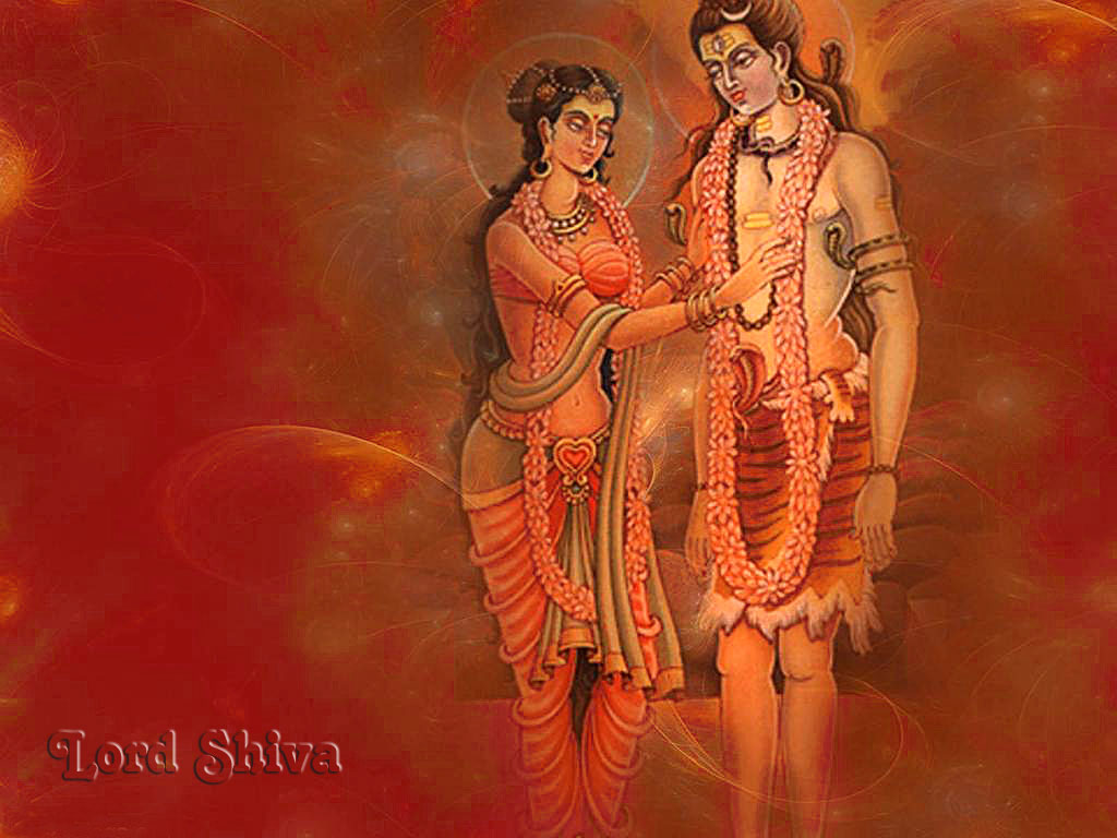 lord shiva parvati hindu god wallpapers free download