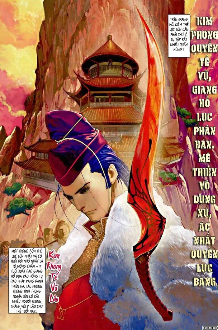 Ôn Thụy An Quần Hiệp Truyện chap 2 trang 4