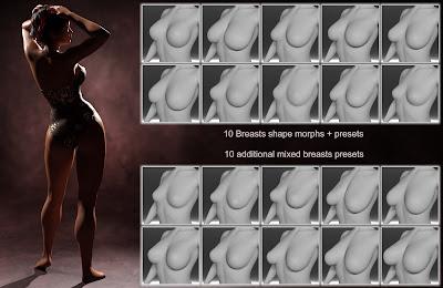 GHD SomeBody - Morphs for Genesis 8 Female