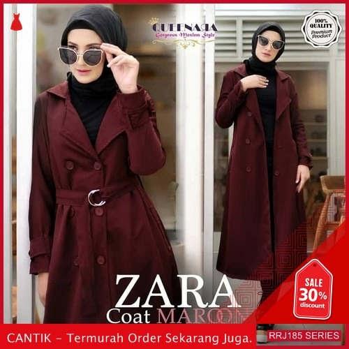 Jual RRJ185O162 Outerwear Zara Coat Wanita St Terbaru Trendy BMGShop