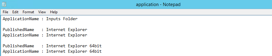 Export a list of all XenApp 7 x published applications via Powershell