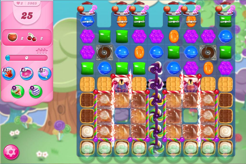 Candy Crush Saga level 5965