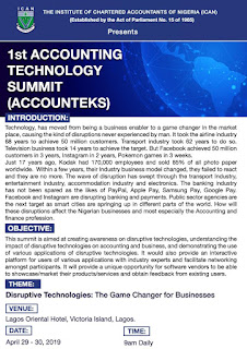 ICAN 1st Accounting Technology Summit