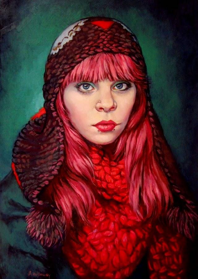 Художница из Великобритании. Annemarie Holloway