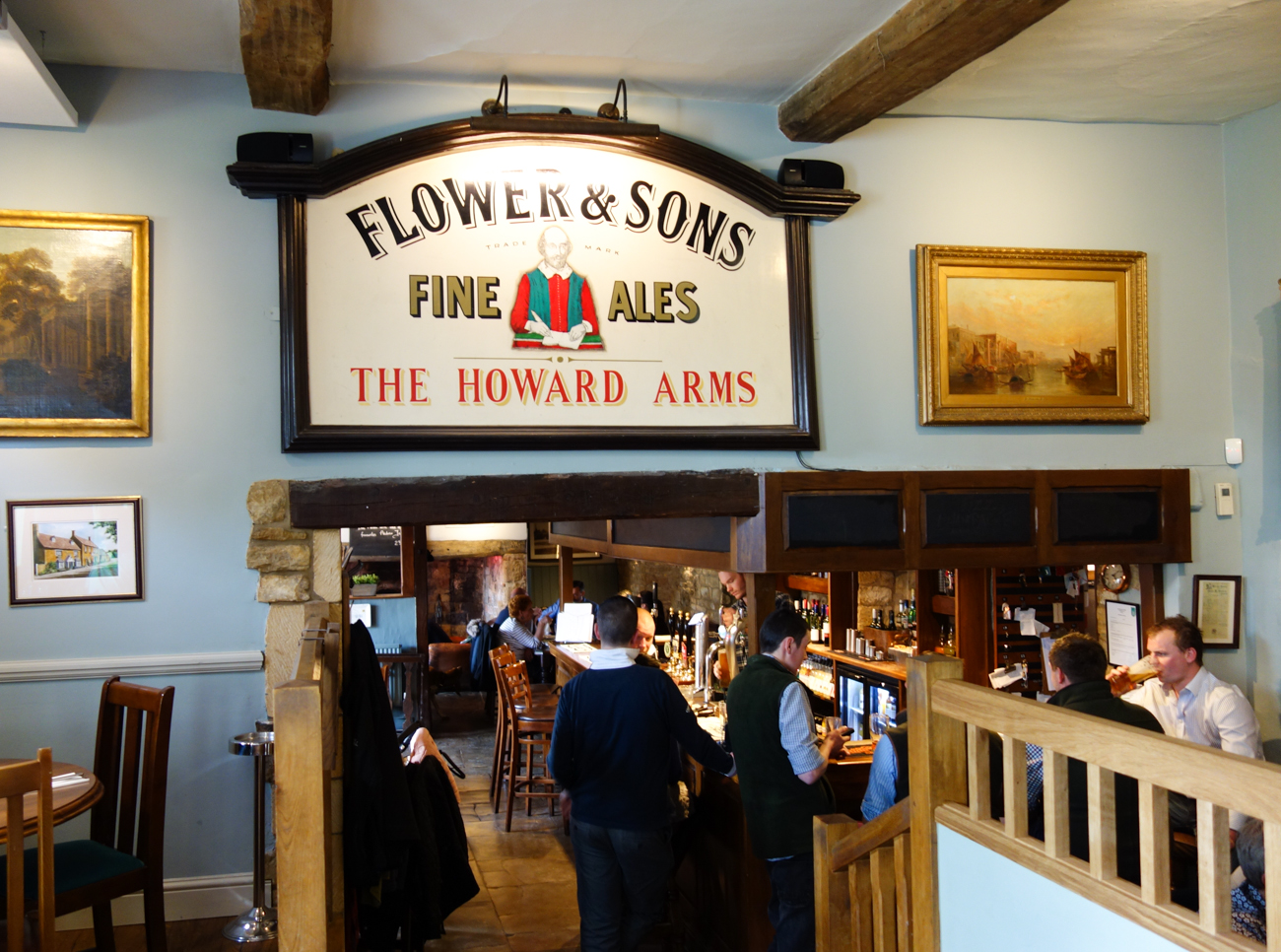 The Howard Arms Cotswold Pub