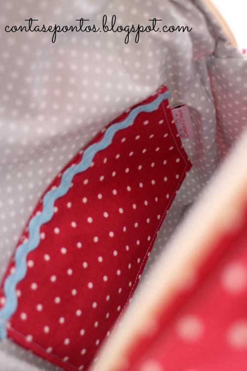 Mochila em tecido