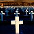 En una histórica ceremonia, los soldados identificados en #Malvinas fueron homenajeados por sus familiares