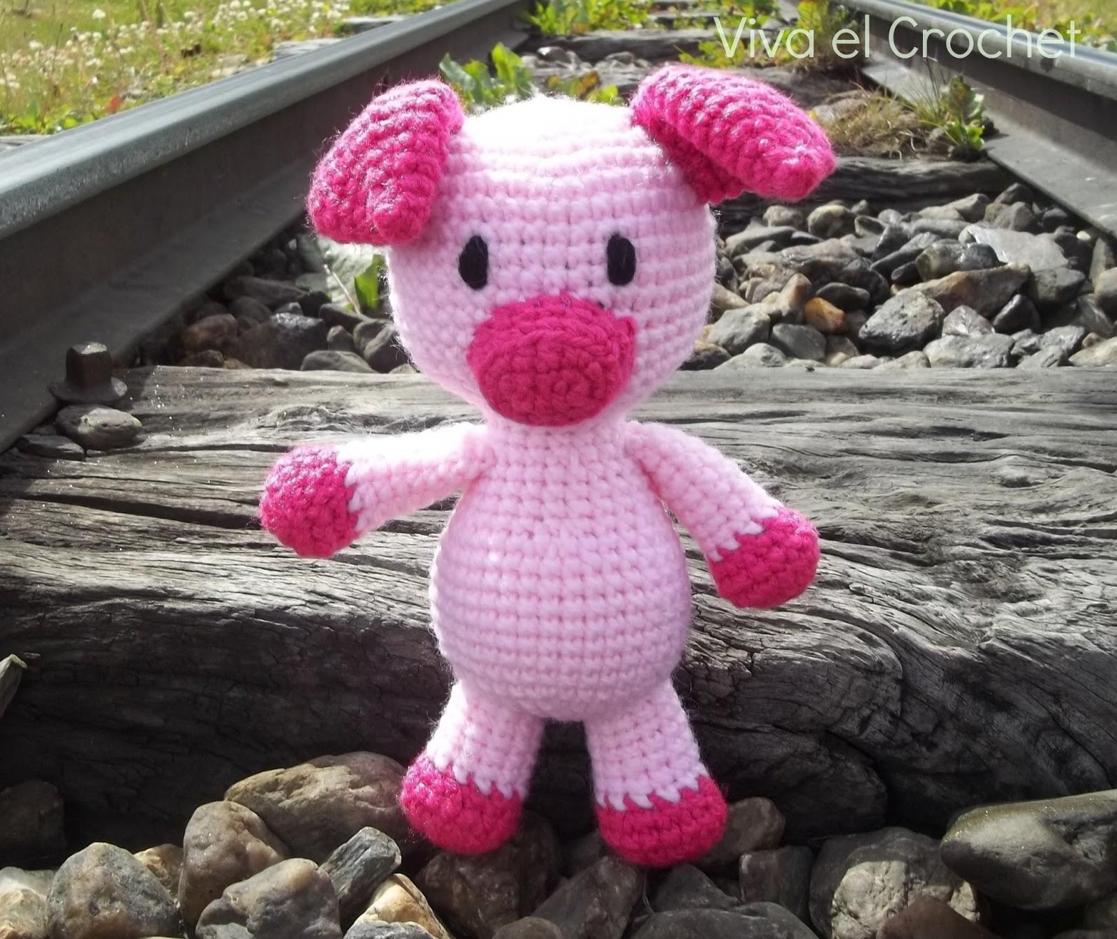 Vistoso Patrón De Crochet Animales Libre Elaboración - Manta de ...