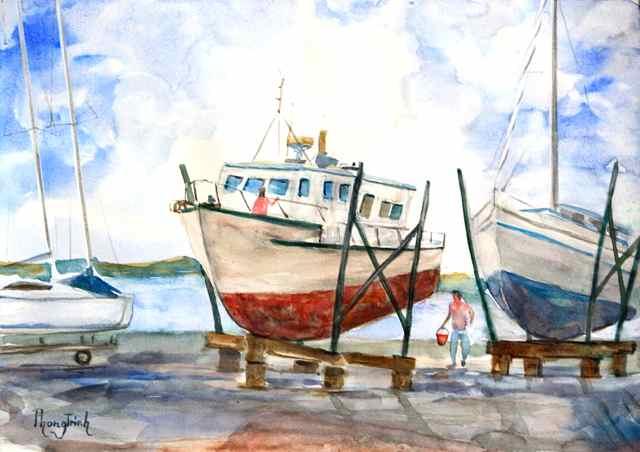 Phong trinh watercolors like a man loves a woman en - Minimum temperature for painting ...