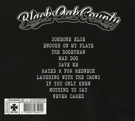 BLACK OAK COUNTY - Black Oak County (2017) back