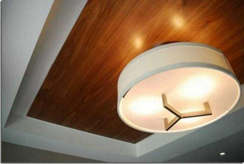desain plafon ruang tamu mungil menarik