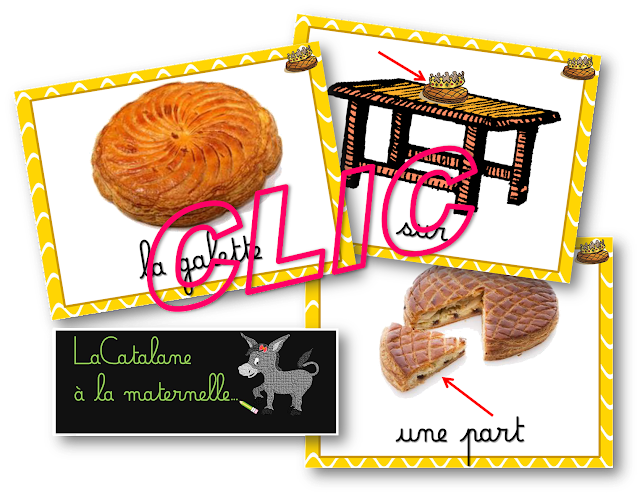 Sac au trésor thème galette (LaCatalane)