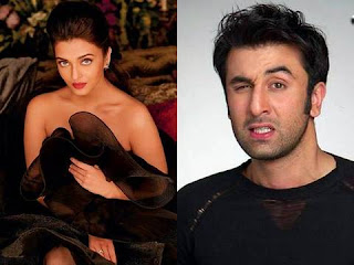 bollywood actor Ranbir Kapoor and actress Aishwarya Rai Bachchan