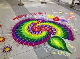 Happy Diwali 2018 Rangoli HD Images