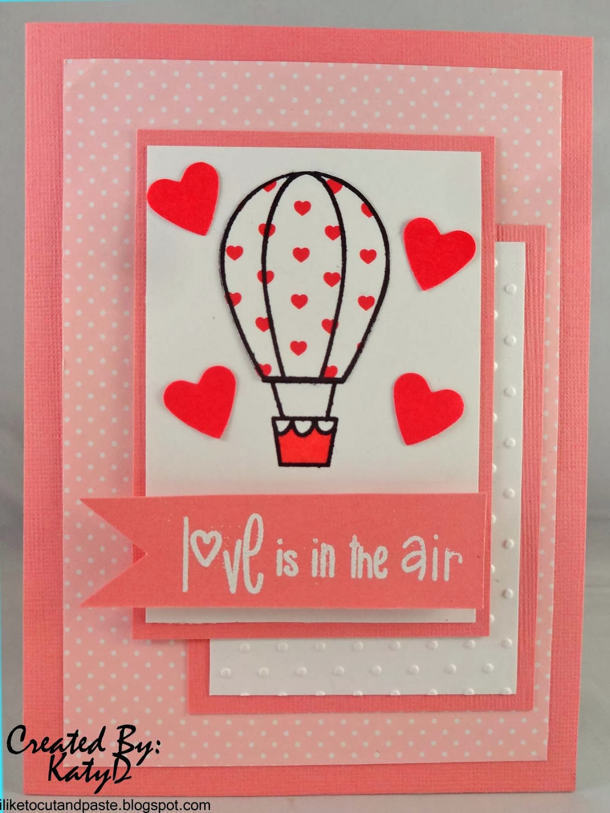I Like To Cut And Paste Valentine S Day Card