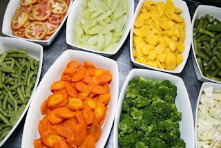 Dieta com legumes do Sacolão Butantã