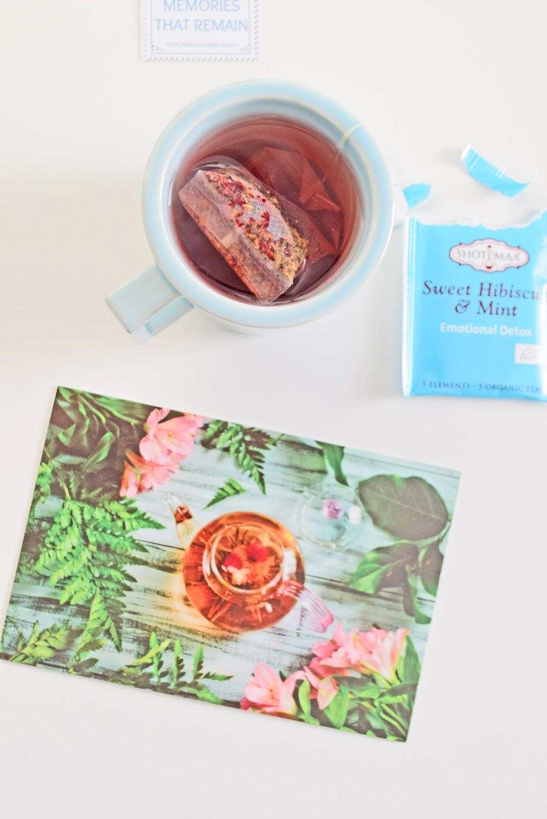 Pocztówka z Herbatą