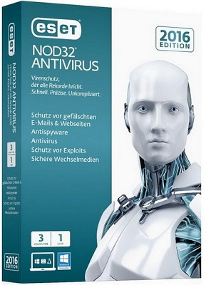 ESET NOD32 Antivirus 10.1.219.0 poster box cover