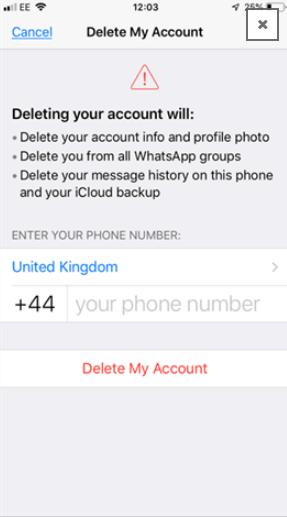 كيفية حذف الواتس آب طريقة حذف حساب الواتساب من الاندرويد والايفون