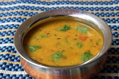 Moong dal sambar