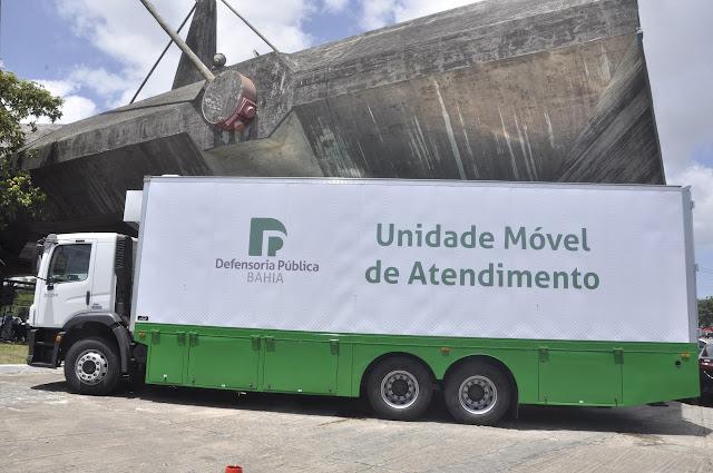 Unidade Móvel da Defensoria Pública atenderá em Catu no dia 23 de outubro