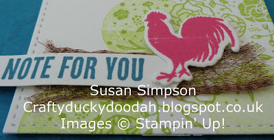 Craftyduckydoodah!, June Coffee & Card Project, Wood Words, Stampin' Up! UK Independent Demonstrator Susan Simpson, Supplies available 24/7 from my online store,