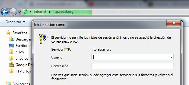 ¡Adiós, FileZilla! Conéctate a un FTP usando solo Windows