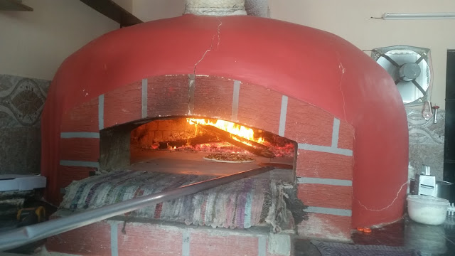 Wood-Fired Pizza Oven at Mama Mia