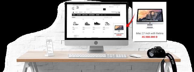 Thiết kế Blogspot bán hàng