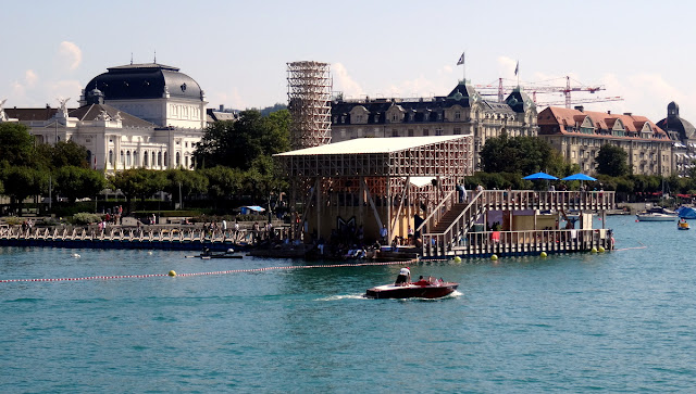 Manifesta 11 Lake Zurich floating pavilion