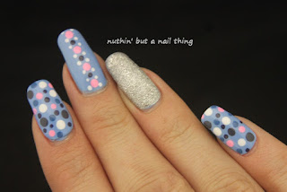 polka dot nail art ideas