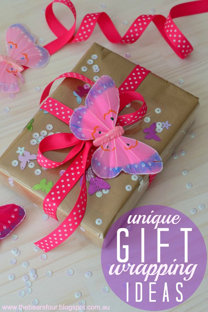 the bears four unique gift wrapping ideas